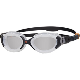 Zoggs Predator Flex Gogle L, white/black/clear